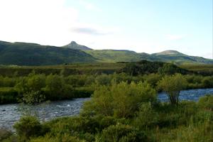 На некоторых участках горные реки